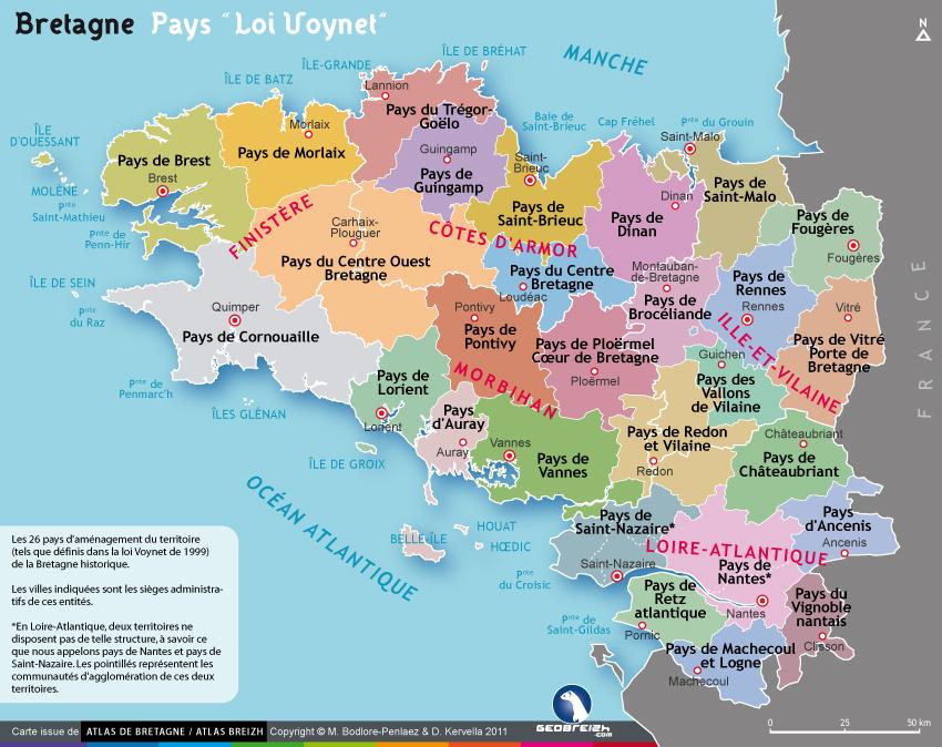 Carte Bretagne Pays De La Loire.Tap Rechercher Une Activite Bretagne Culture Diversite