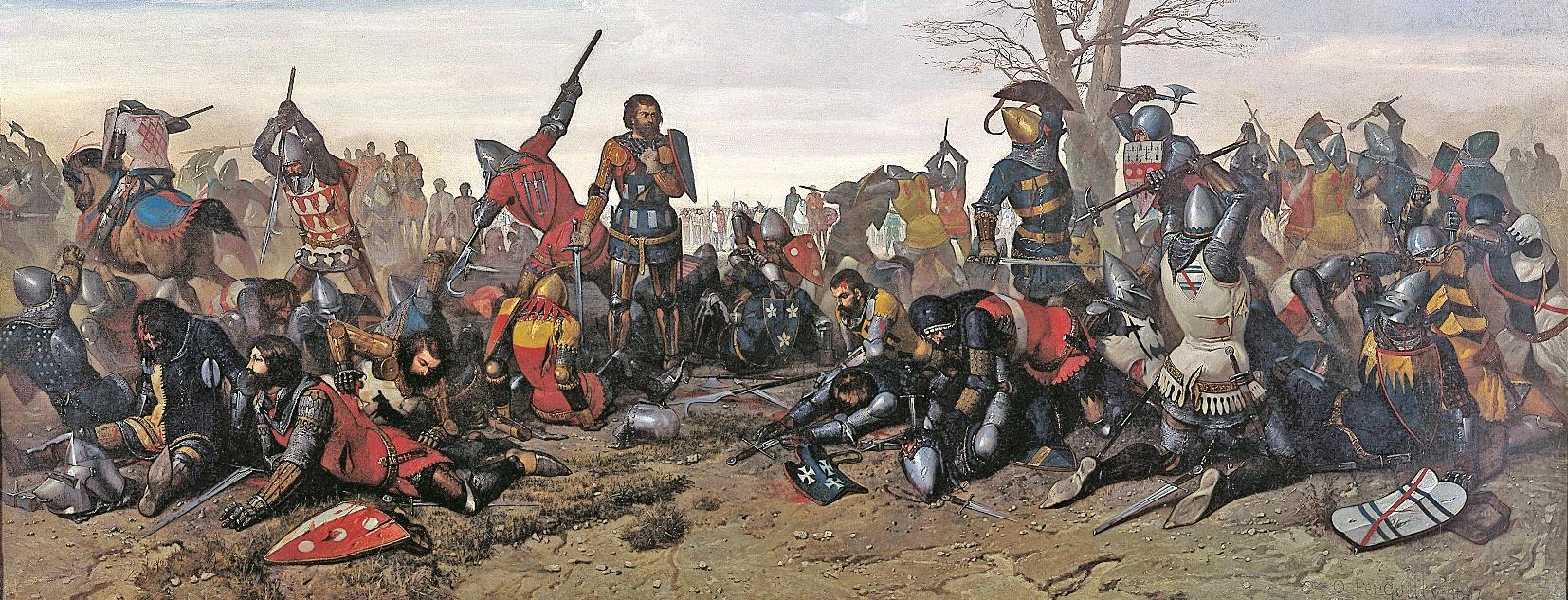 Le combat des trente becedia for Dans jeannot et colin l auteur combat