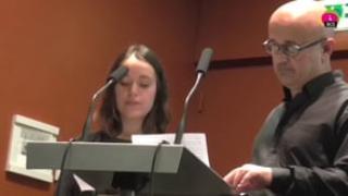 Mot d'introduction de la ville de Rennes par Ana Sohier et Benoît Careil