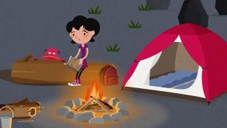 Solenn et Plop épisode 7 - Une nuit sous la tente ?